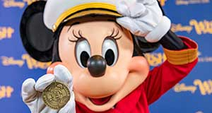 Disney Wish Reaches Milestone with Captain Minnie Mouse at the Helm!
